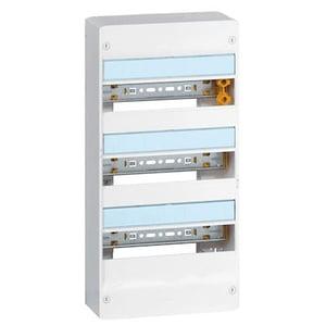 Coffret DRIVIA 13 modules 3 rangées IP30 IK05 - blanc RAL9003