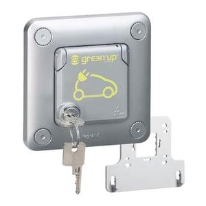 Prise renforcée Legrand Green'up Access 3kW (LEG077898) avec verrouillage à clé