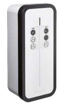 Borne de recharge Hager Witty Start à clé 9-22 kW double prise T2/TE (XEV1K22T2TET)