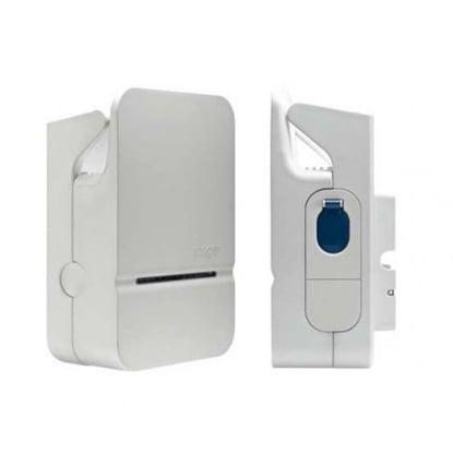 Borne de recharge IRVE murale : Hager Witty Premium XEV101 1P (monophasé, 7kW) + Protections électriques (incluses dans le colis)