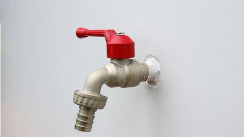 Installation d'un robinet 1/4 de tour