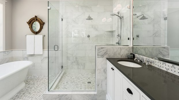 Installation d'une douche à l'italienne