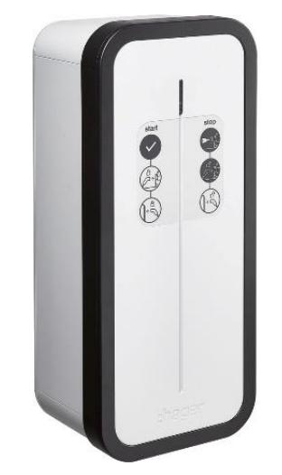 Borne de recharge Hager Witty Start à clé 7kW double prise T2/TE