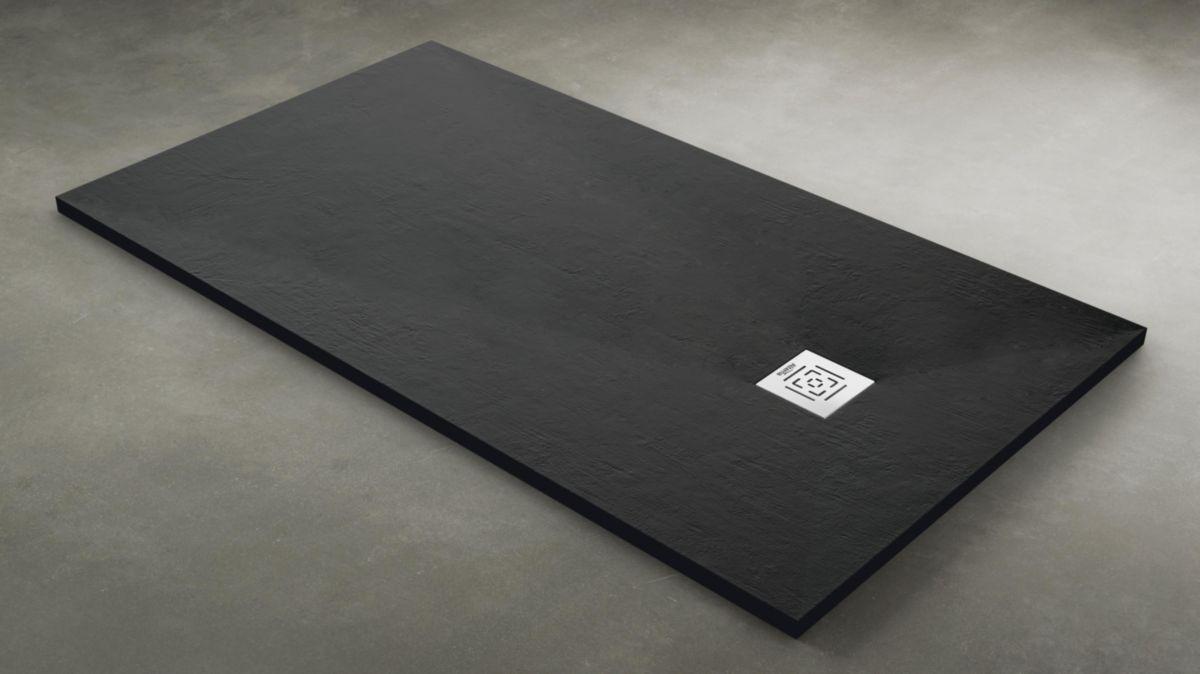 Receveur DAILY'O 120 x 80 cm béton anthracite