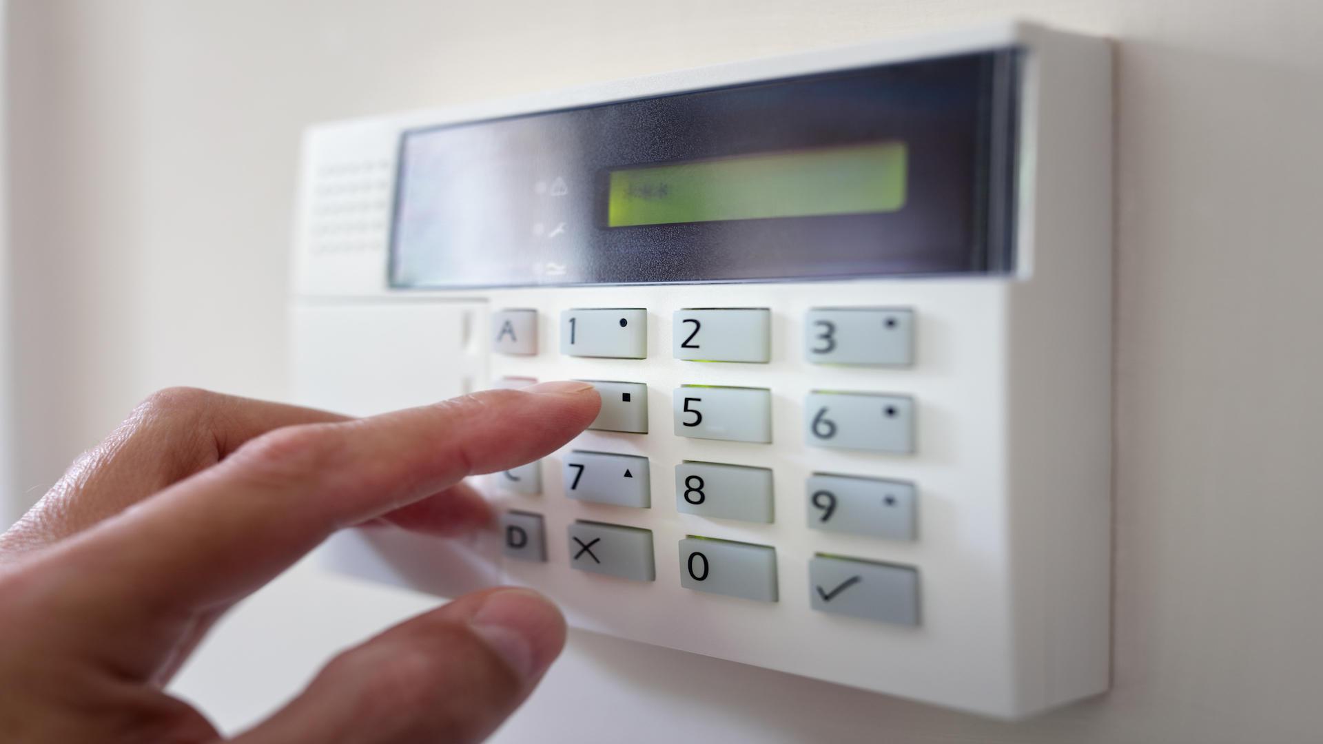 Installation d'alarme de sécurité