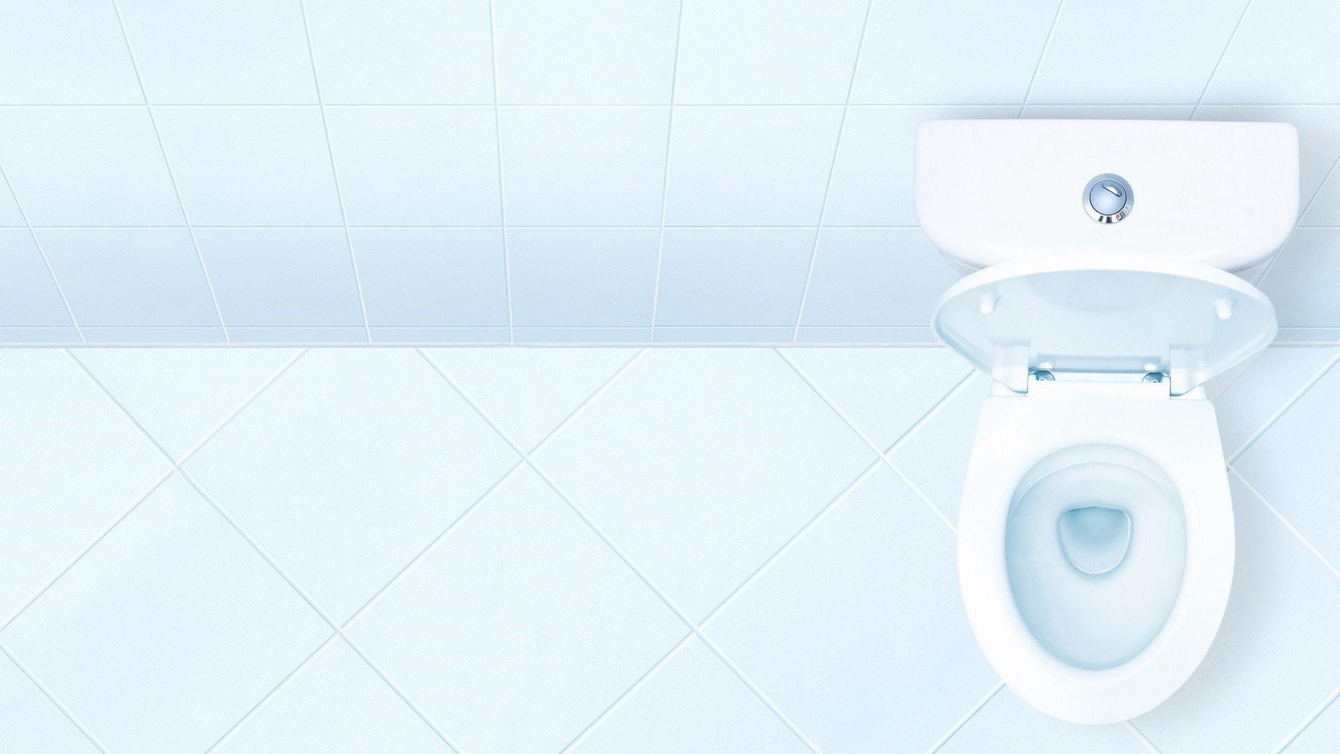 Installation d'un abattant de toilettes