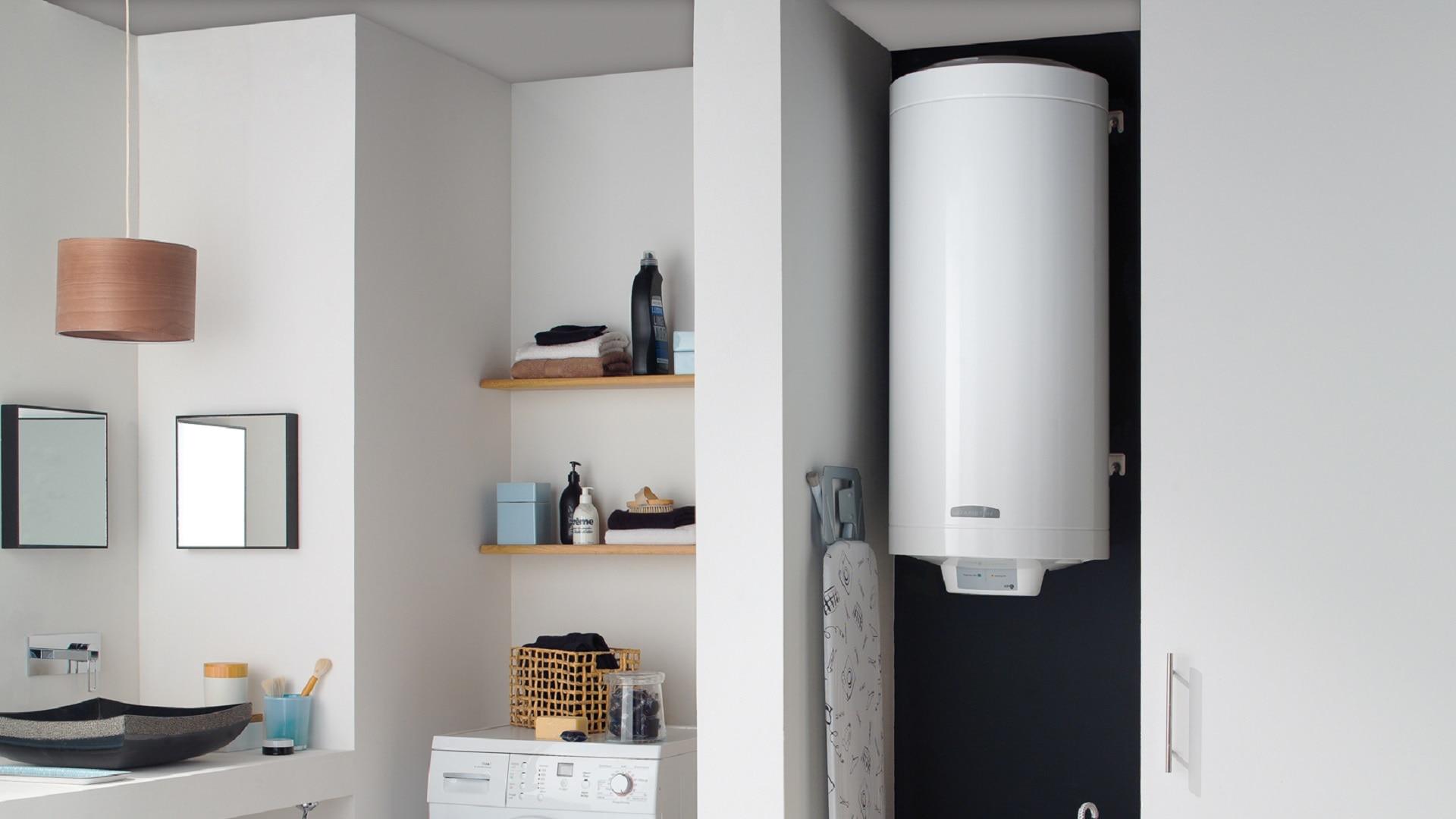 Installation de chauffe eau électrique plat