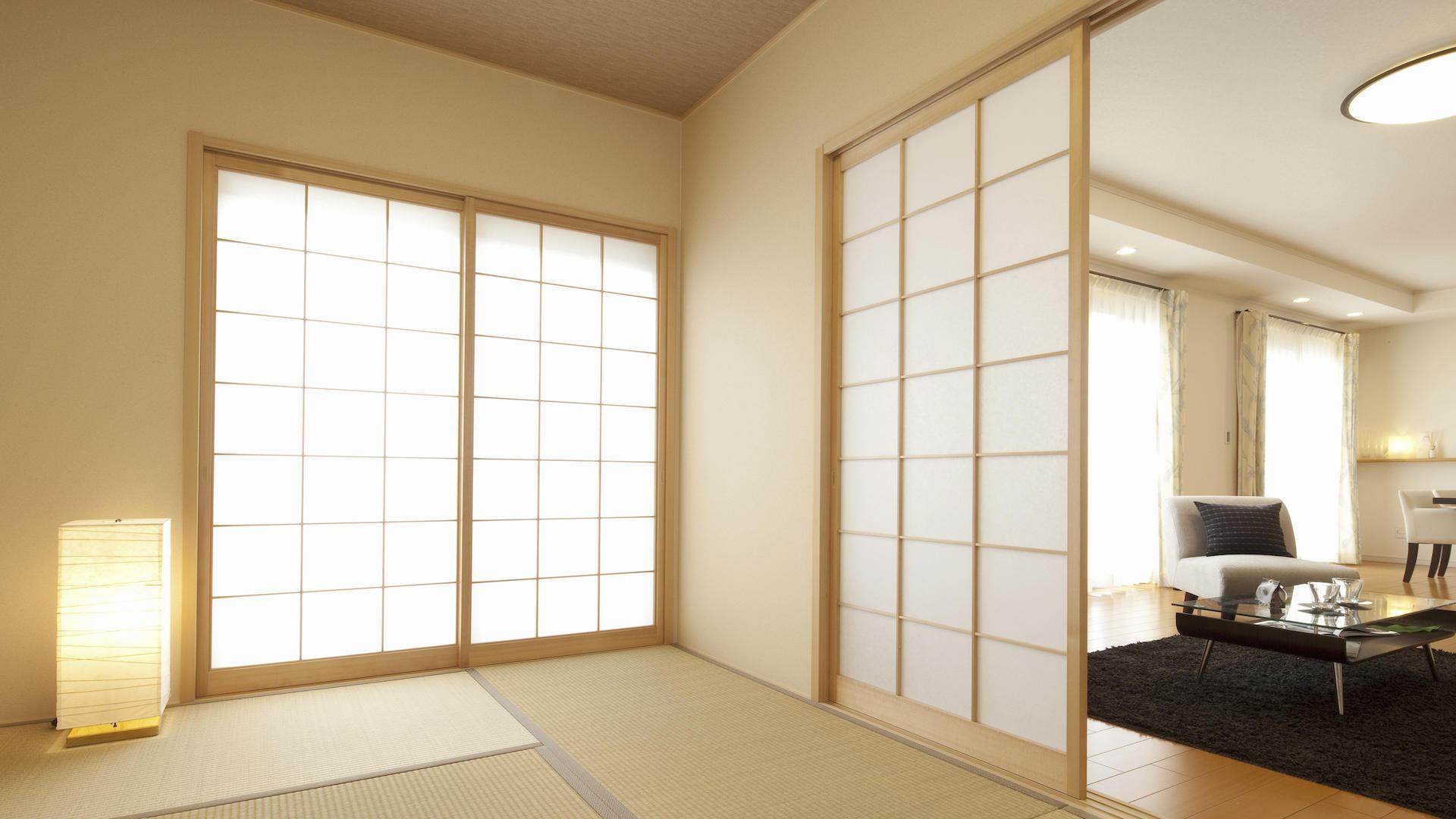 Installation de panneau japonais