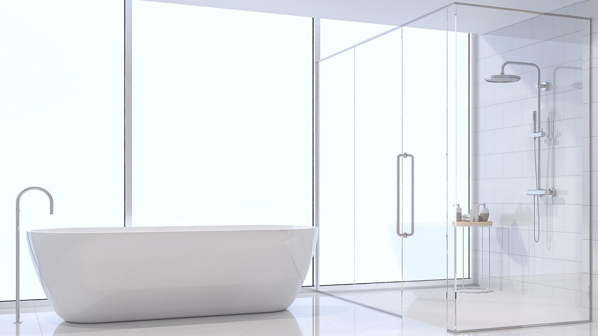 Installation de parois et portes de douche