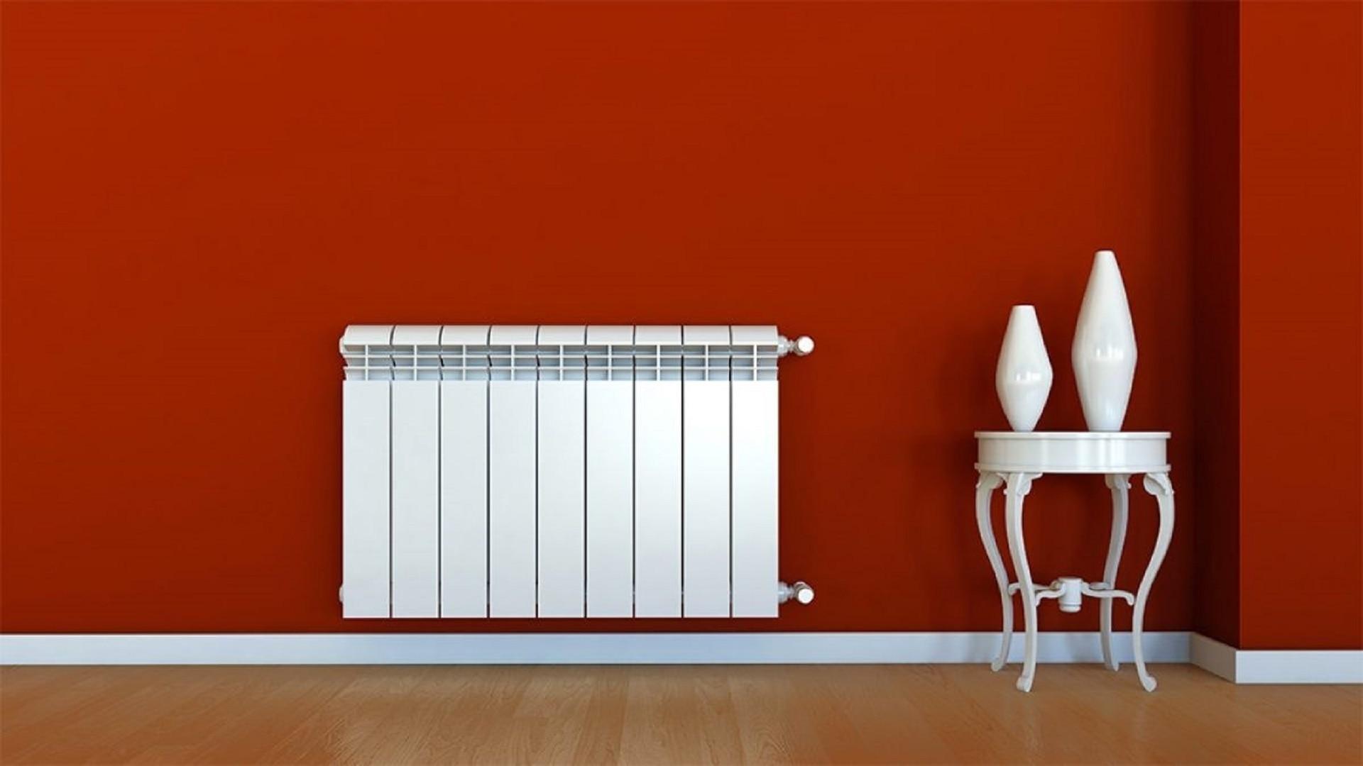 Installation d'un radiateur à eau chaude