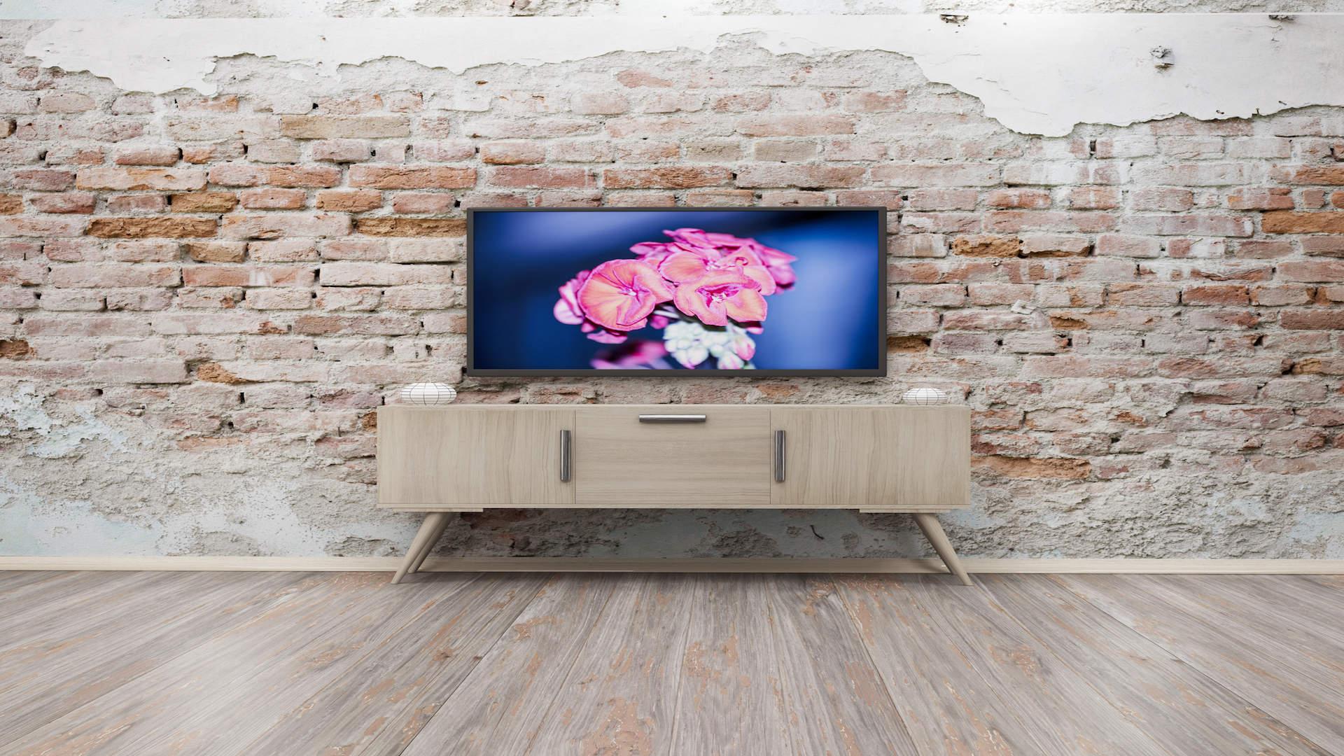 Fixation murale d'un écran TV