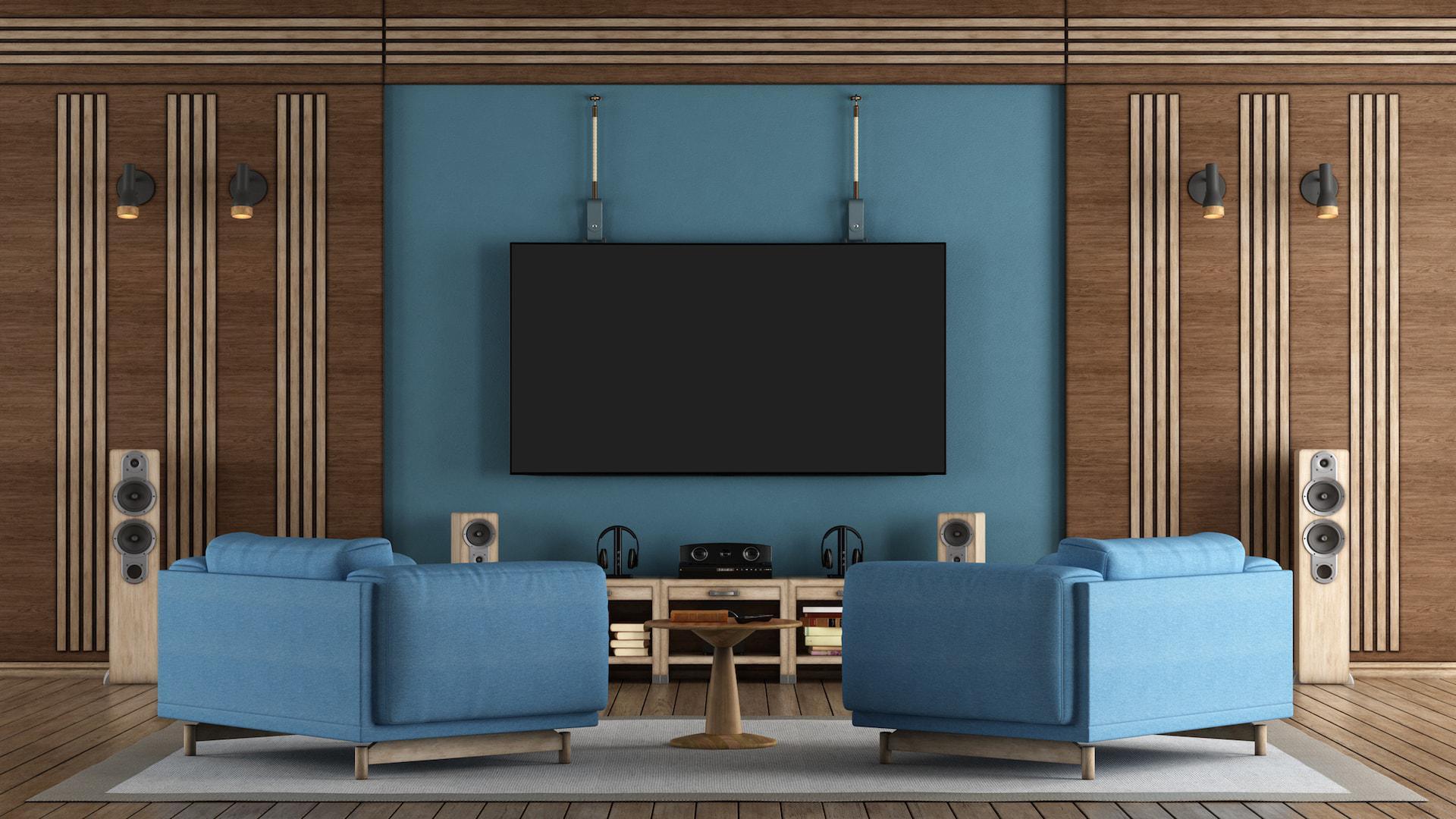 Installation de home-cinéma