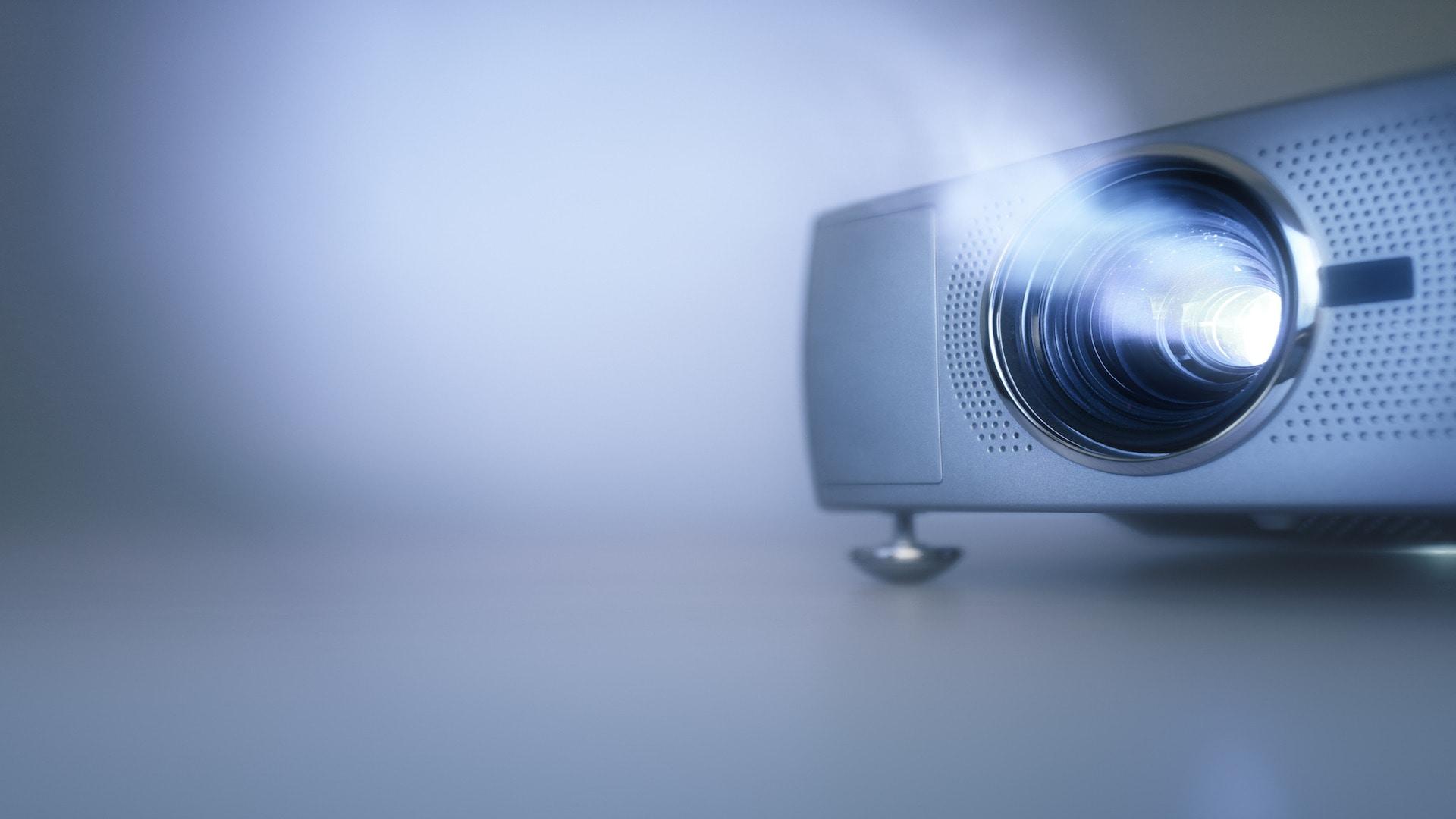 Installation de vidéoprojecteur
