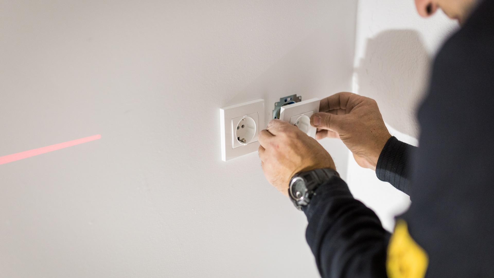 Installation de prise ou d'interrupteur