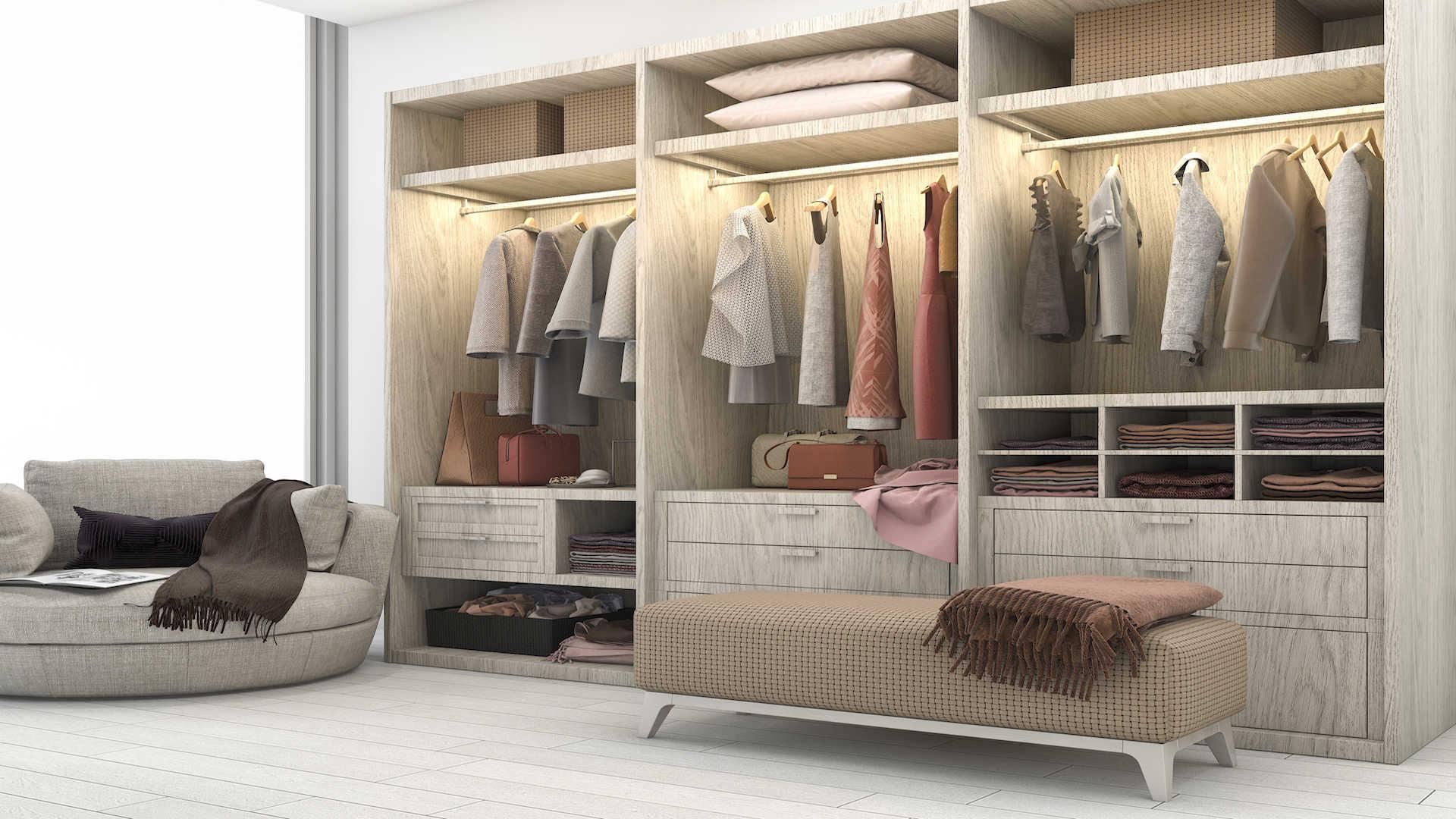 Montage d'armoire, dressing ou penderie