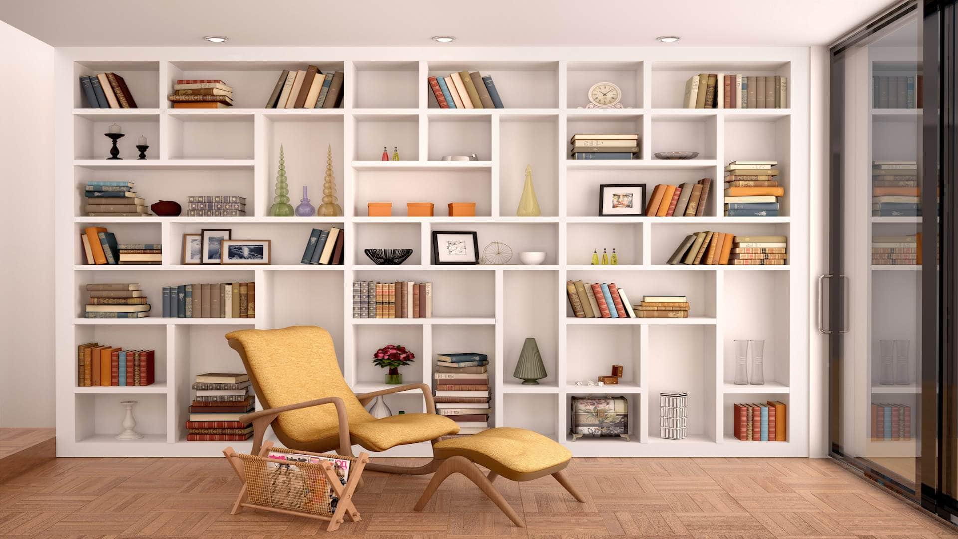 Montage d'étagère, bibliothèque ou meuble colonne