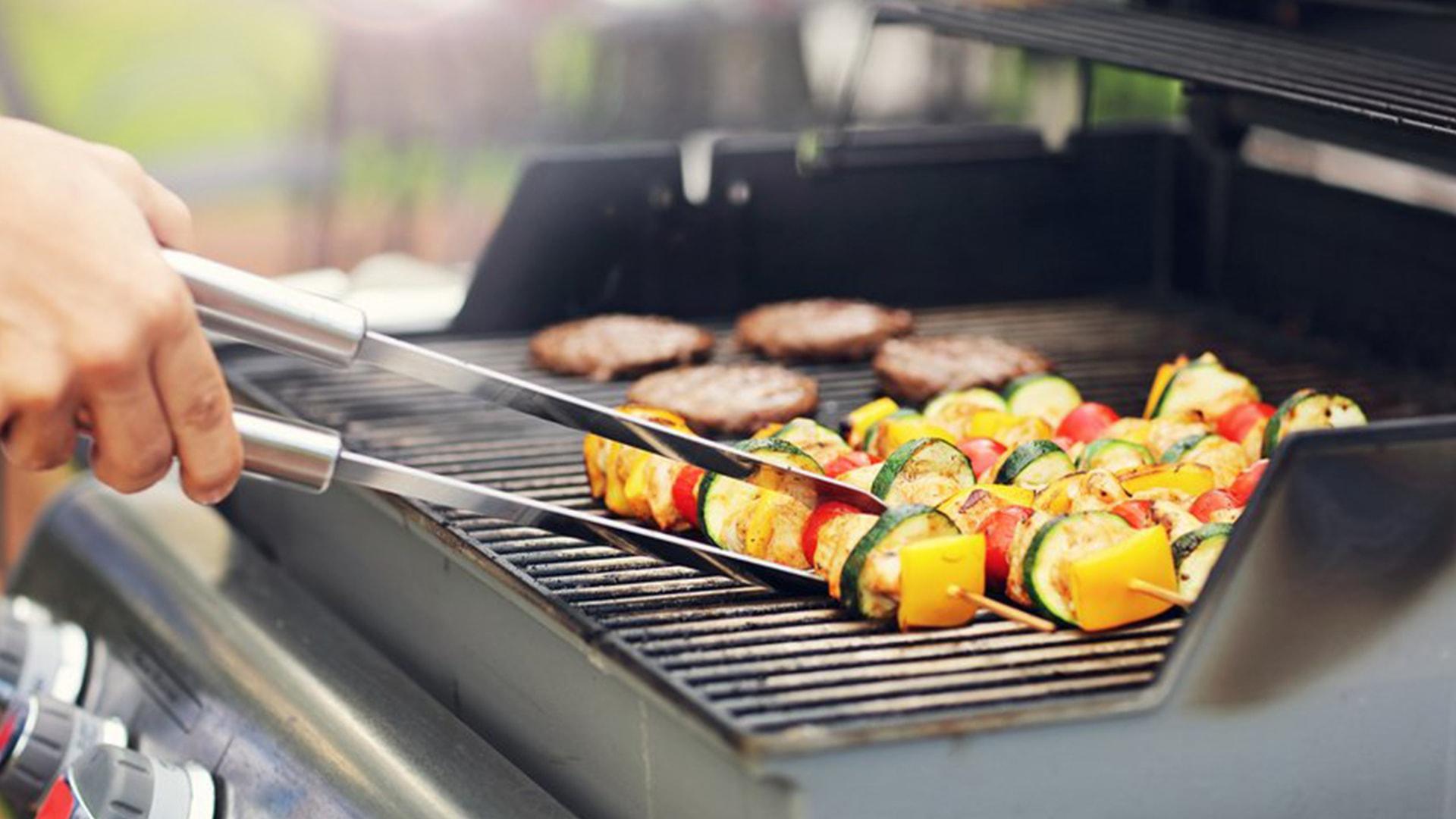 Montage de barbecue
