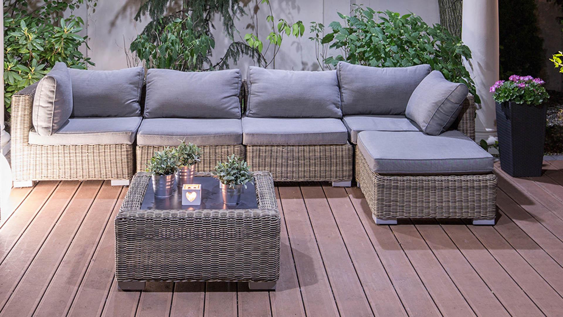 Montage de meuble de jardin