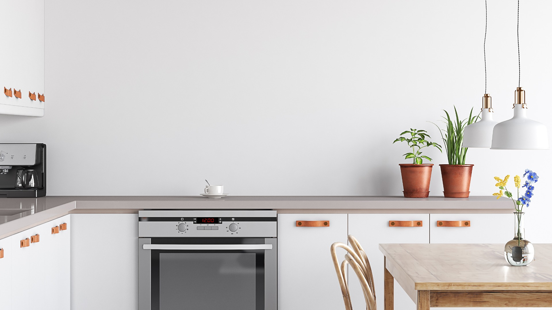 Peinture d'une cuisine