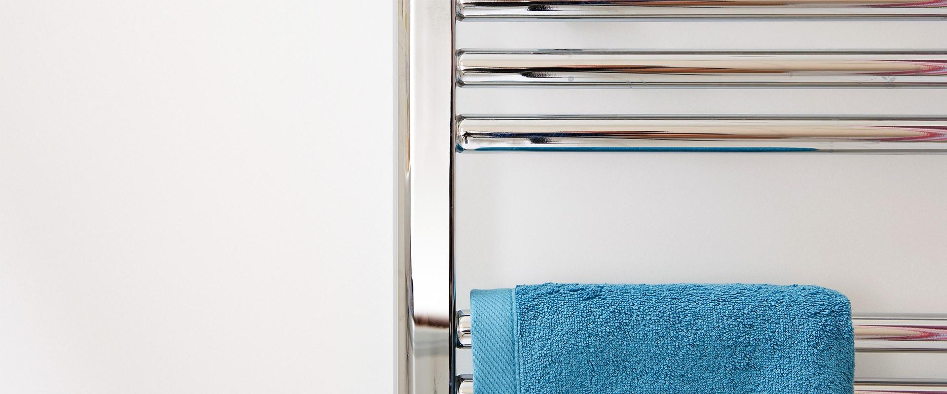 Installation d'un sèche-serviettes
