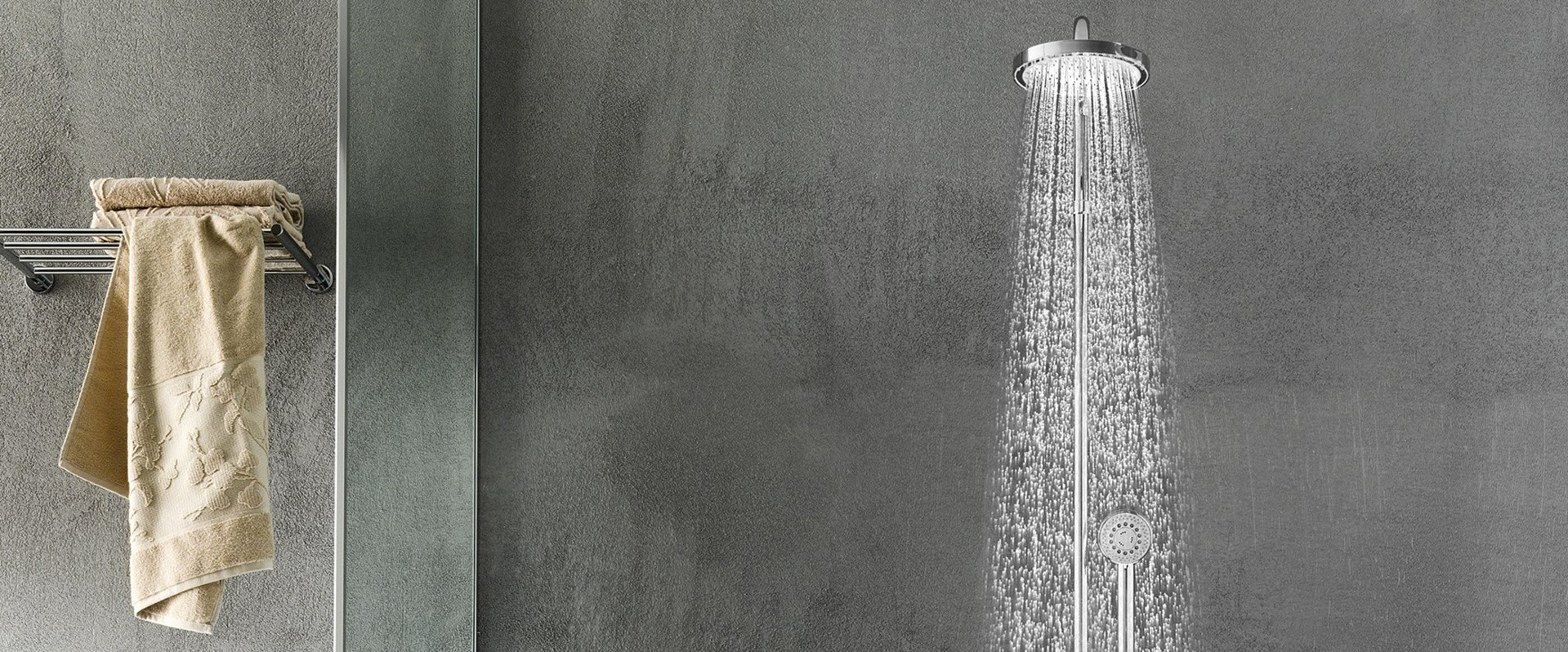 Pose de colonne de douche