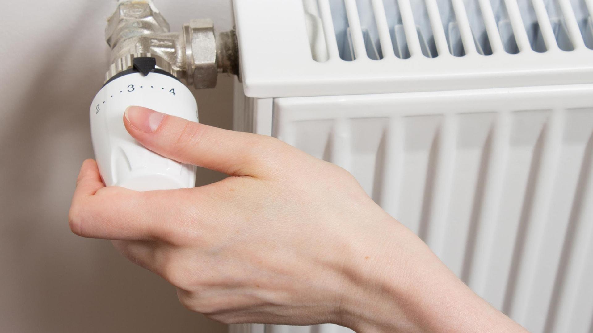 Remplacement de robinet de radiateur