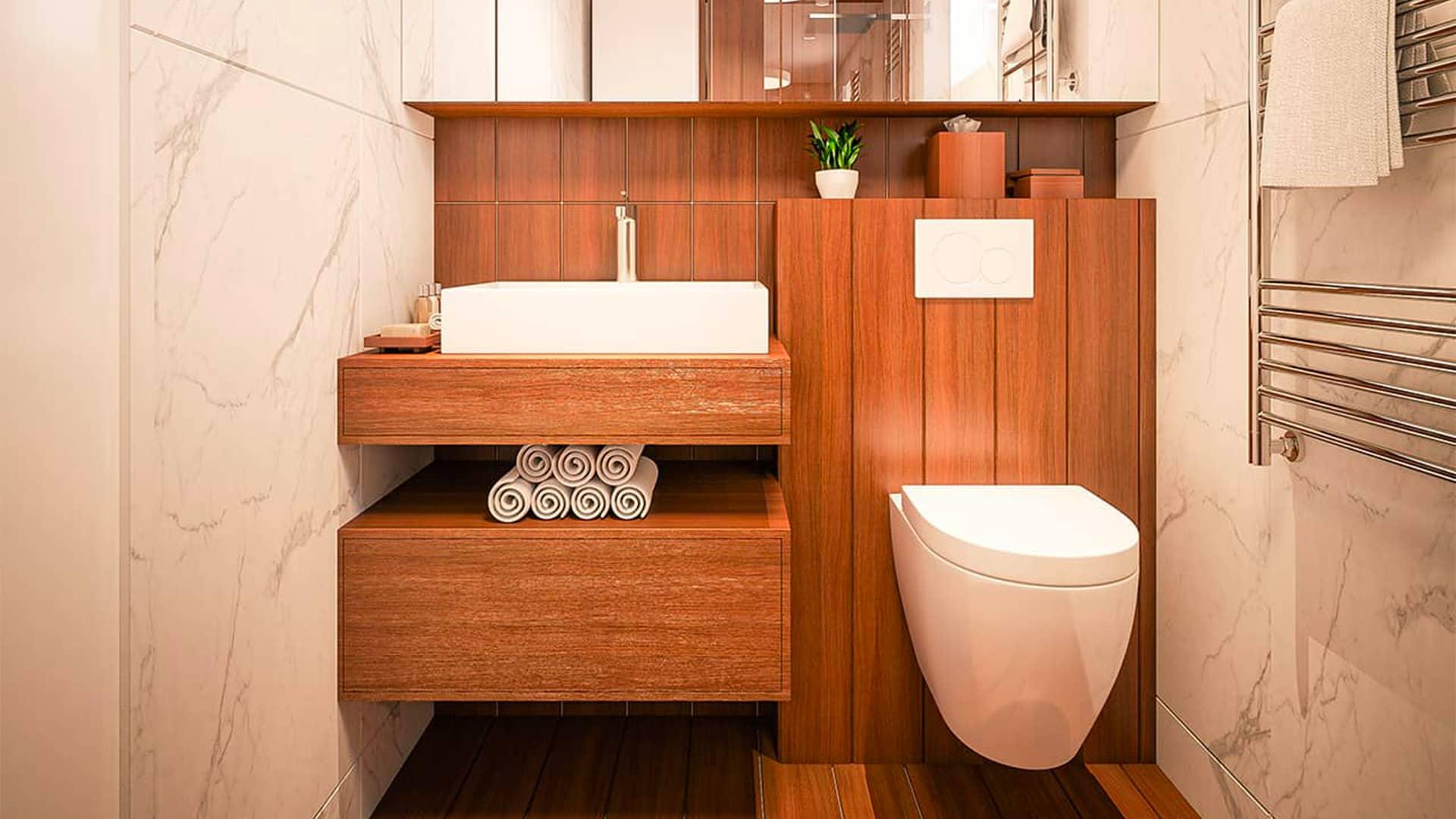 Rénovation des toilettes
